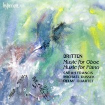Britten Music for Oboe CD
